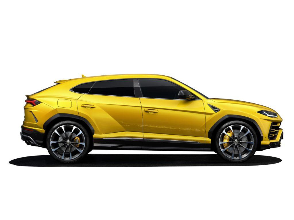 Lamborghini Urus: Pirelli mette a disposizione sei tipi di pneumatici