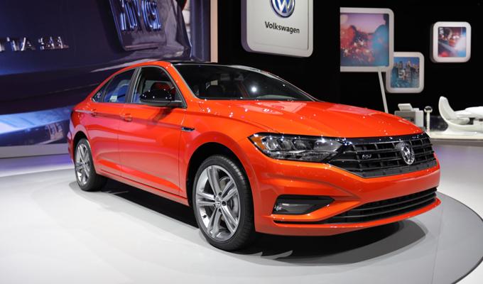 Volkswagen Jetta - Salone di Detroit 2018