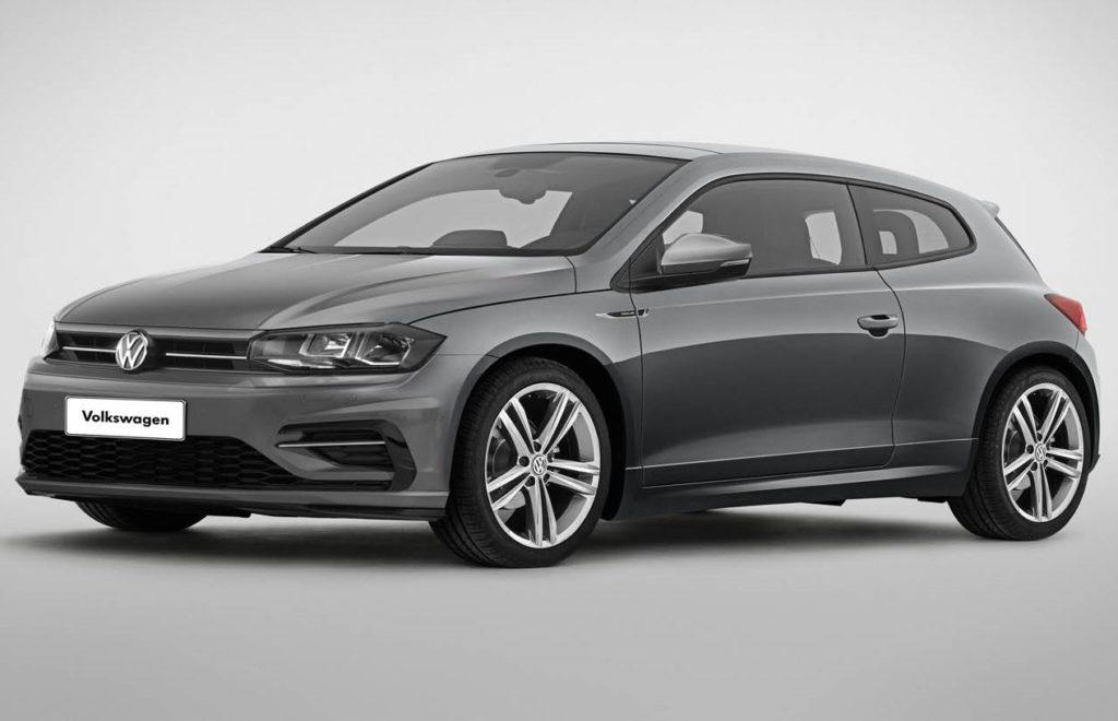 Volkswagen Polo Coupé: idea per riempire il vuoto lasciato dalla Scirocco [RENDERING]