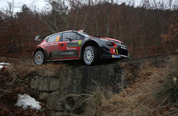 Rally di Monte Carlo, Citroen: Meeke sale al quinto posto in Tappa 2