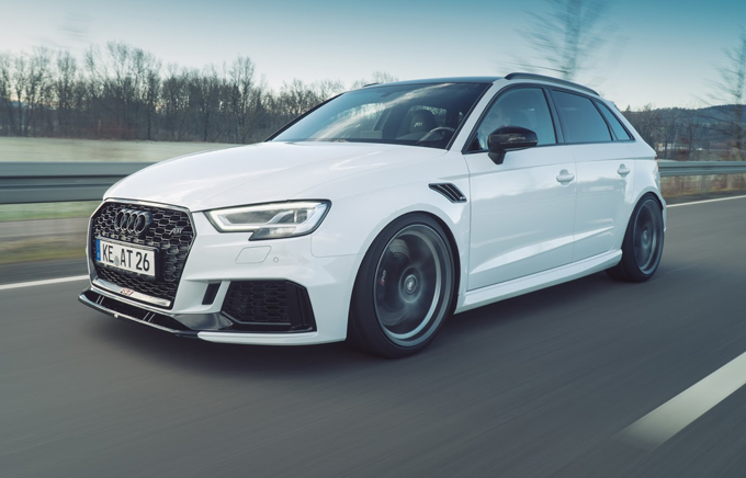 Audi RS3 Sportback by ABT Sportsline: il 5 cilindri sale a quota 500 CV!
