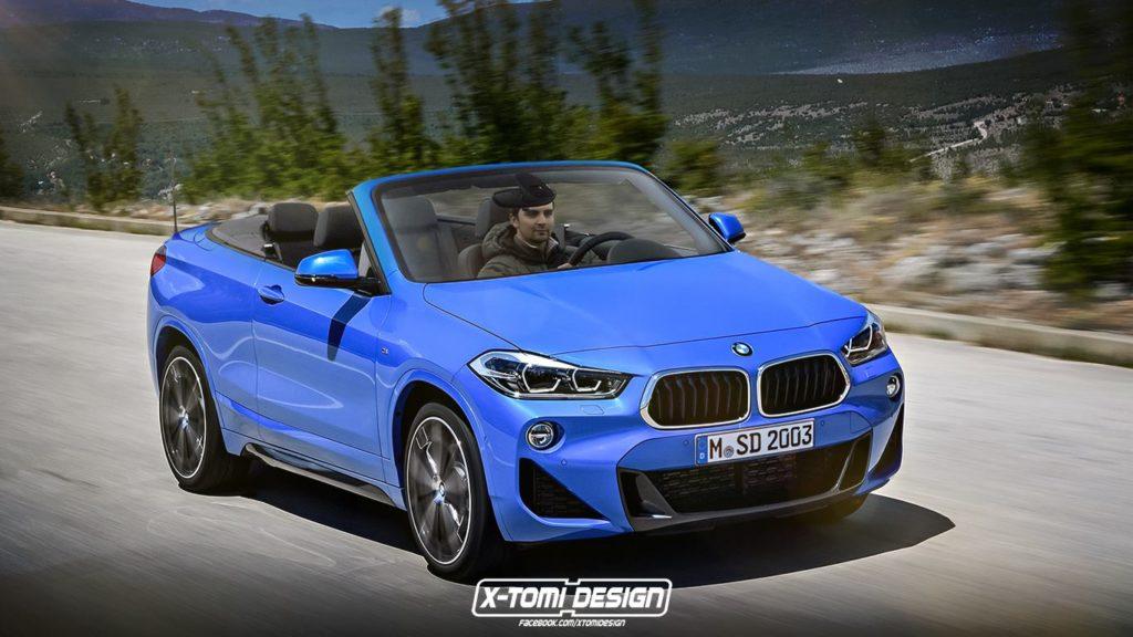 BMW X2 Convertible: sfiderà la Range Rover Evoque Cabrio? [RENDERING]