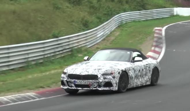 BMW Z4, avvistato il muletto al Nurburgring [VIDEO SPIA]