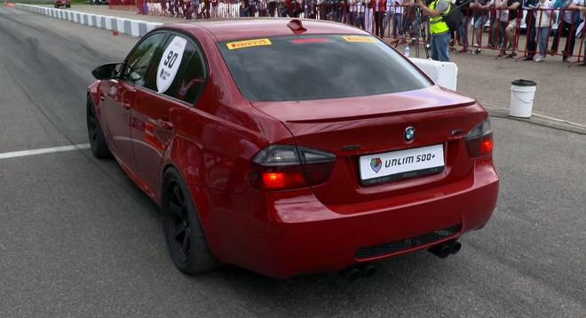 Bmw M3, portata a 900 cavalli per le drag races [VIDEO]