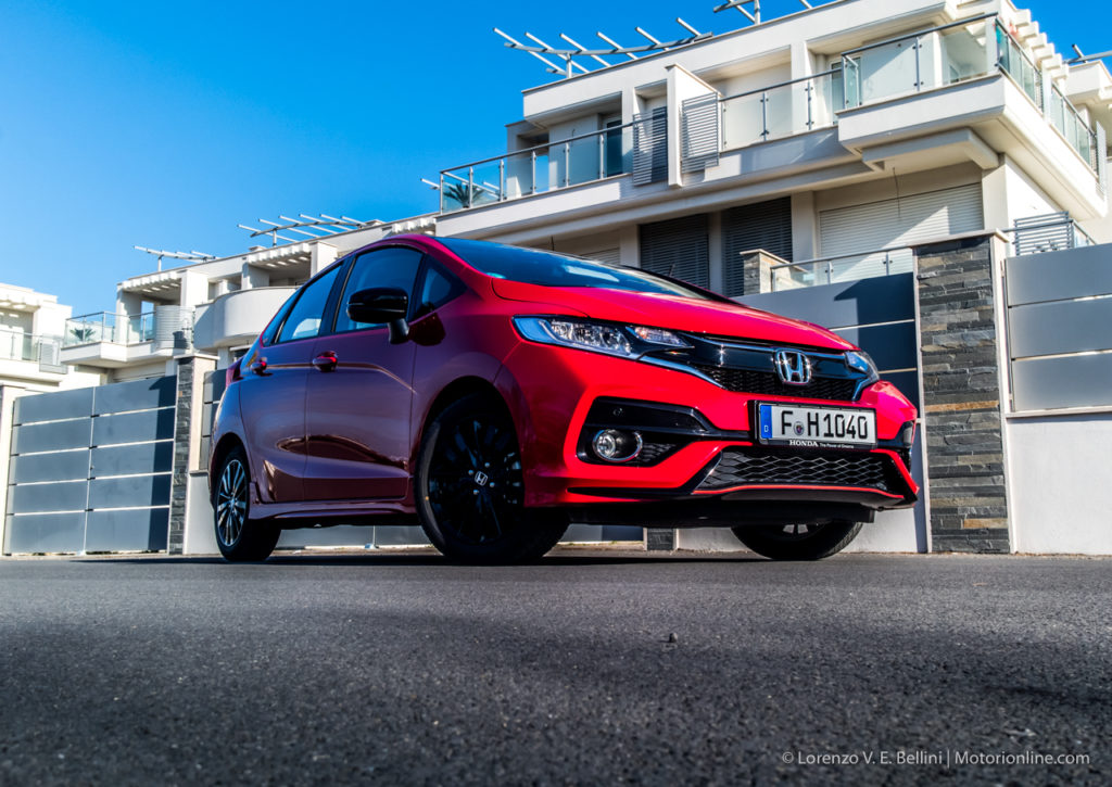 Nuova Honda Jazz Dynamic MY 2018 - Anteprima Test Drive