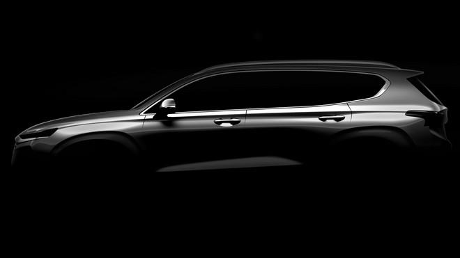 Hyundai Santa Fe: primo TEASER della quarta generazione