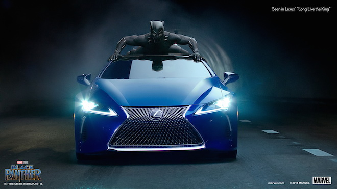Lexus: lo spot per il Super Bowl con Black Panther [VIDEO]