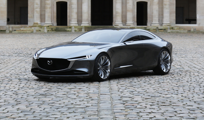 "Mazda Vision Coupè vince il premio ""Most Beautiful Concept Car of the Year"""