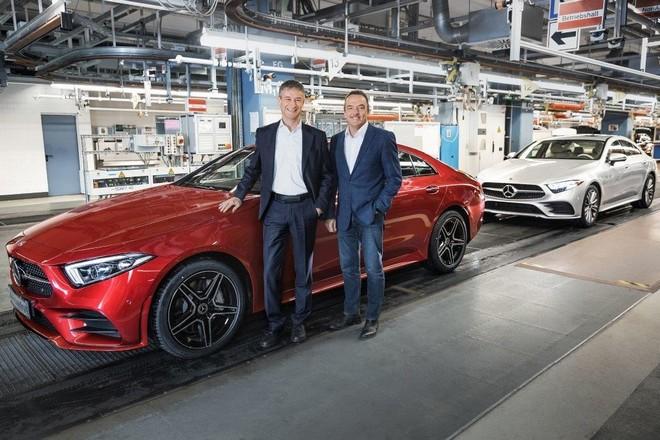 Mercedes CLS 2018: iniziata la produzione in Germania
