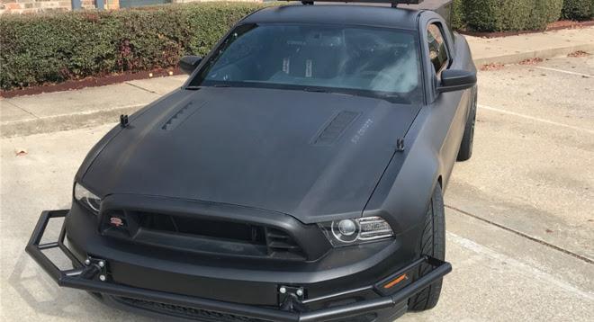 Ford Mustang, utilizzata per le riprese cinematografiche [VIDEO]