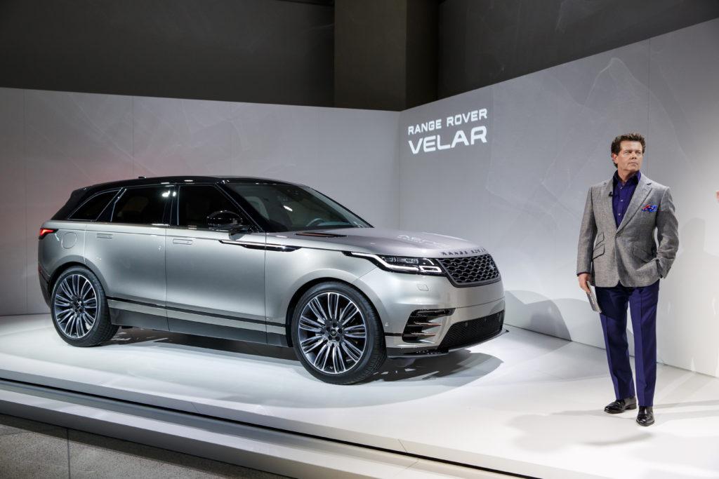 Gerry McGovern è stato nominato Designer of the Year al Festival Automobile International