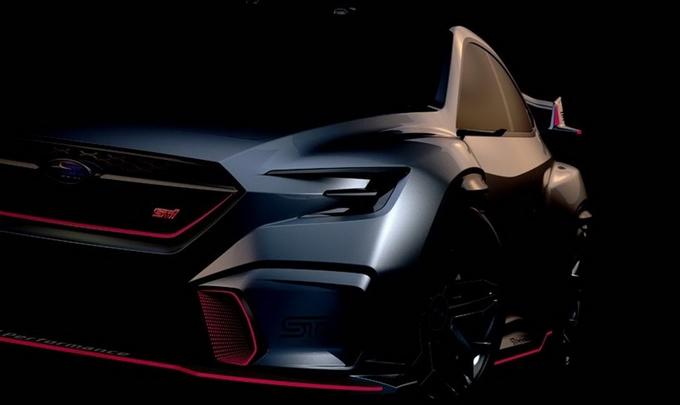 Subaru al Tokyo Auto Salon con la Viziv Performance STI Concept [TEASER]