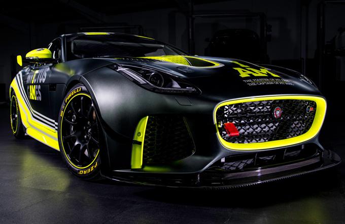 Jaguar F-Type SVR GT4: il Giaguaro annuncia il ritorno in pista