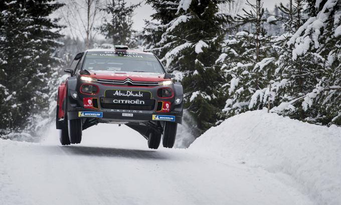 Rally di Svezia, Citroen: la rimonta di Breen, secondo in tappa 2