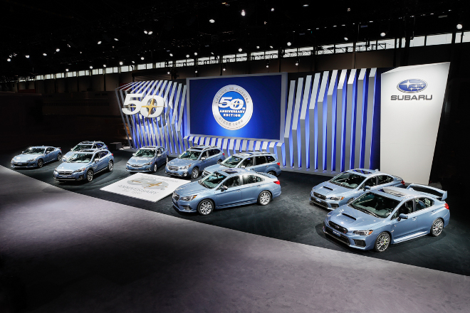 Subaru celebra il 50esimo anniversario con un'edizione speciale