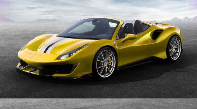 """Ferrari 488 Pista Aperta: emozioni """"en plein air"""" [RENDERING]"""