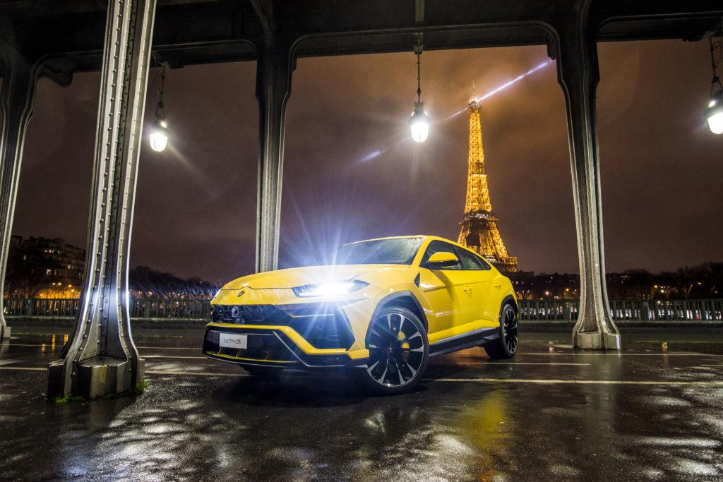 Lamborghini: inaugurato il nuovo showroom a Parigi