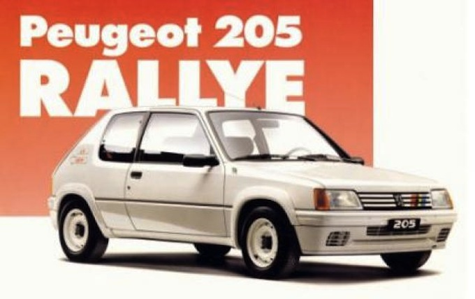 Peugeot 205 Rallye (1988): più di una Gti