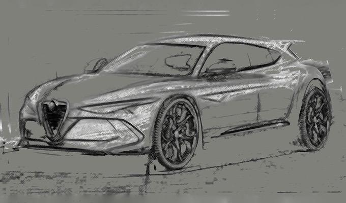 Alfa Romeo Giulietta: un'altra ipotesi della prossima generazione [SKETCH]