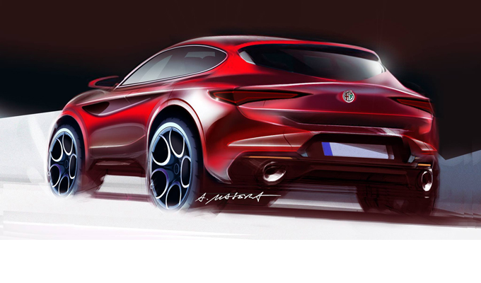alfa romeo giulietta l immaginata nuova generazione in stile crossover rendering. Black Bedroom Furniture Sets. Home Design Ideas