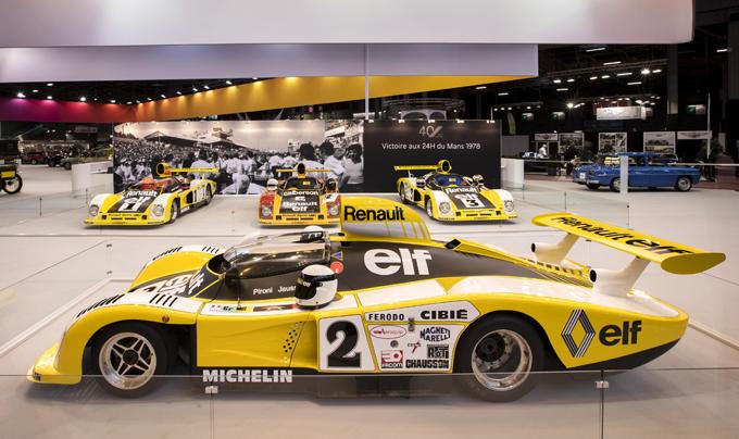 Alpine celebra il 40esimo anniversario del successo alla 24 Ore di Le Mans al Rétromobile