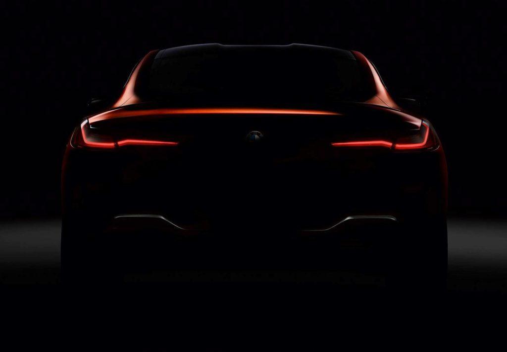 BMW Serie 8 Coupe: nuova anticipazione del posteriore [TEASER]