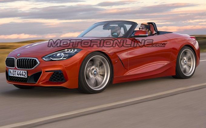 Nuova BMW Z4, la roadster bavarese immaginata così [RENDERING]