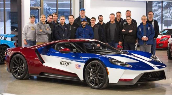 Ford GT Victory: inedita livrea da corsa riservata solo ai dipendenti del costruttore americano
