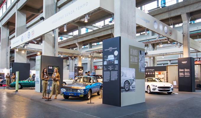 FCA Heritage ad Automotoretro 2018 - nuova galleria