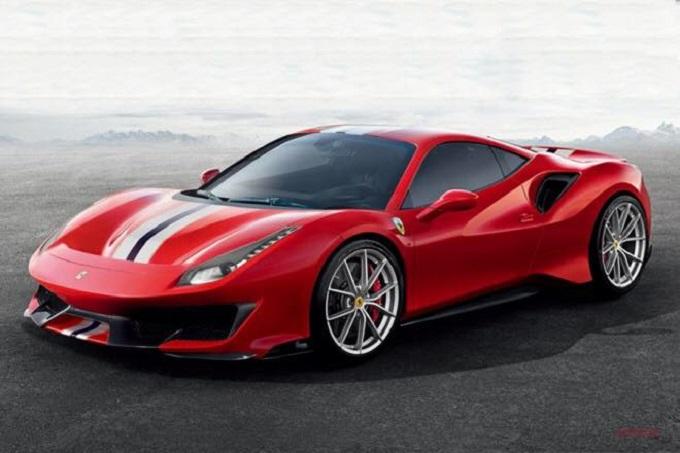 Ferrari 488 Pista le prime