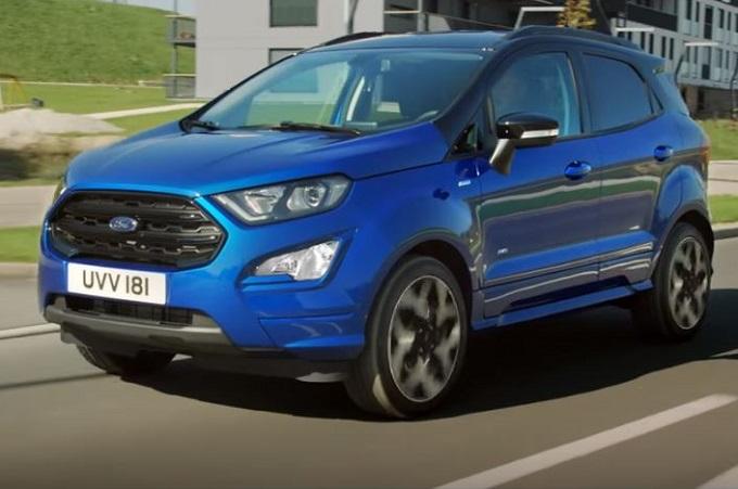 Nuova Ford EcoSport: esperienza di guida superiore [VIDEO]
