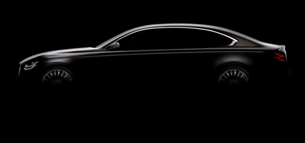 Nuova Kia K900: rilasciata la prima immagine della berlina [TEASER]