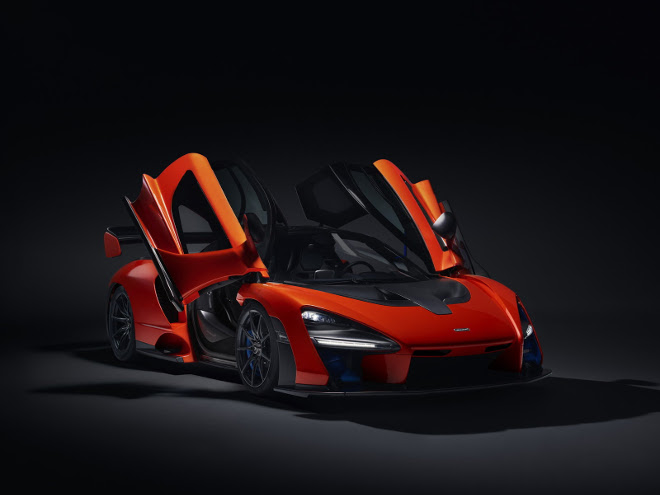 McLaren Senna, l'idea è quella di competere nella 24h di Le Mans