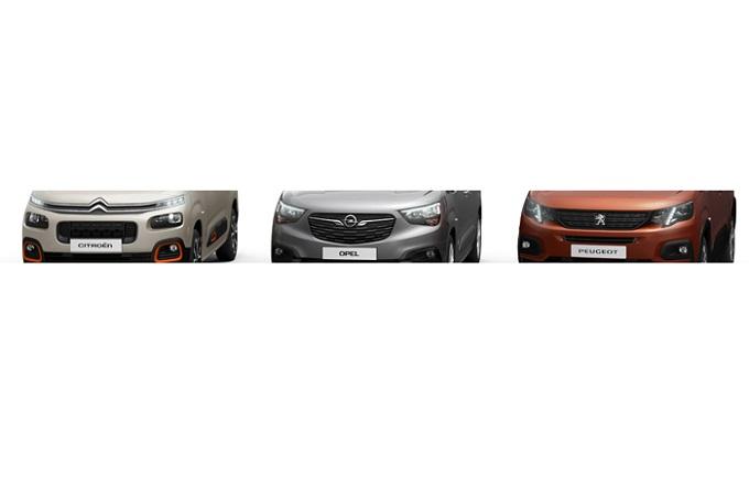 Groupe PSA, offensiva nel segmento multispazio con tre novità Peugeot, Citroen e Opel