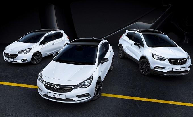 Opel Astra, Corsa e Mokka X: arriva la versione speciale Black Edition