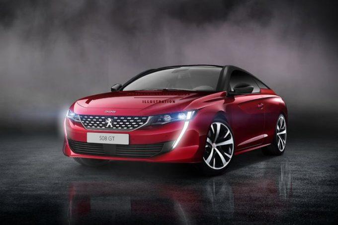 Nuova Peugeot 508: e se fosse una coupè? [RENDERING]
