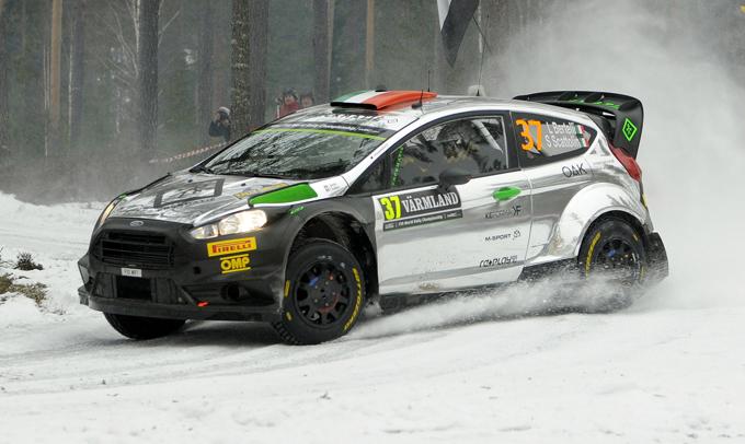 Pirelli al Rally di Svezia con i Sottozero Ice