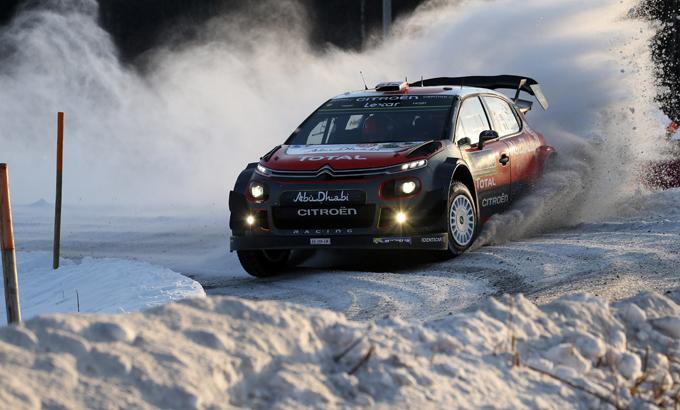 WRC, Citroen verso il Rally di Svezia