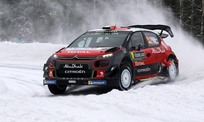 Rally di Svezia, Citroen: splendida piazza d'onore per Craig Breen
