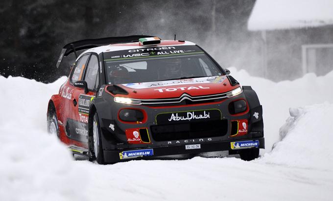WRC, Citroen: prestazioni consistenti di Breen e della C3 in Svezia