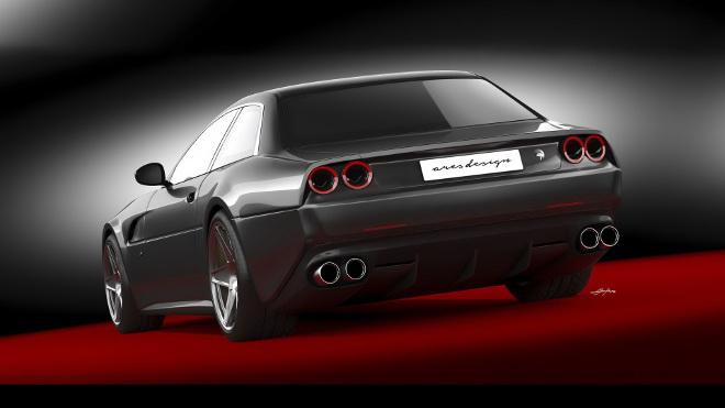 Ferrari 412, Ares Design vuole proporre un revival