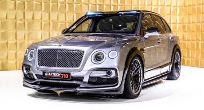 Bentley Bentayga, da super SUV a hyper SUV grazie a Startech