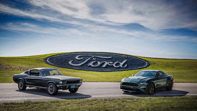 La Ford Mustang Bullit di Steve McQueen inizia un tour mondiale