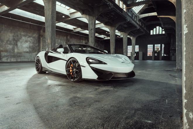 McLaren 570s Spider, presentata la versione di Novitec [VIDEO]