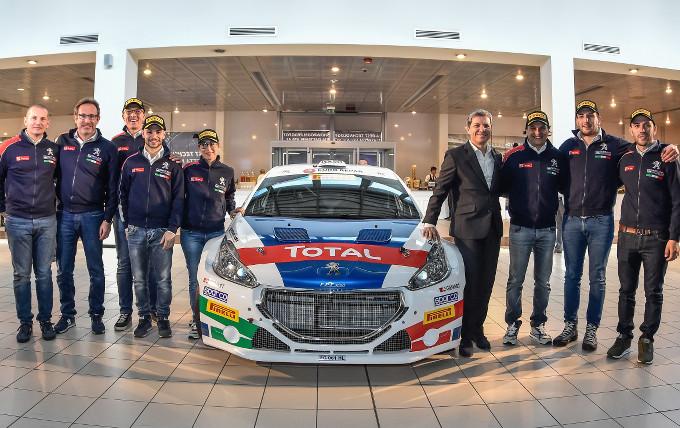 Peugeot Sport Italia di nuovo protagonista nel Campionato Italiano Rally 2018