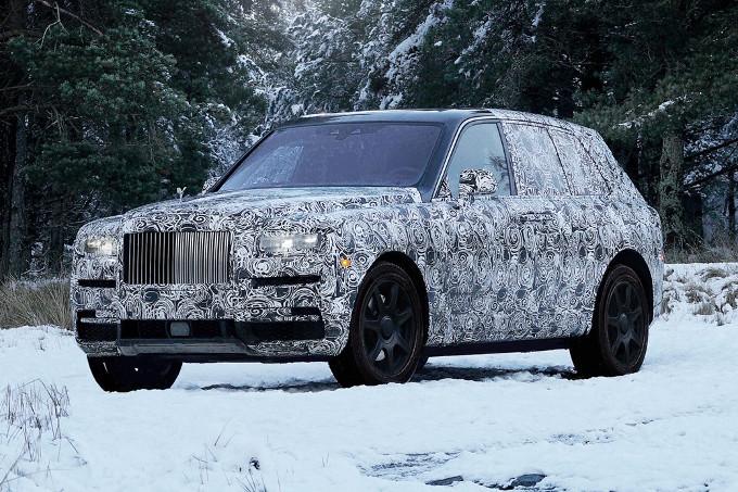 Rolls-Royce Cullinan, il nome del SUV è ufficiale