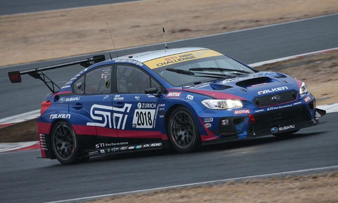 Subaru WRX STI: la versione 2018 in pista al Fuji