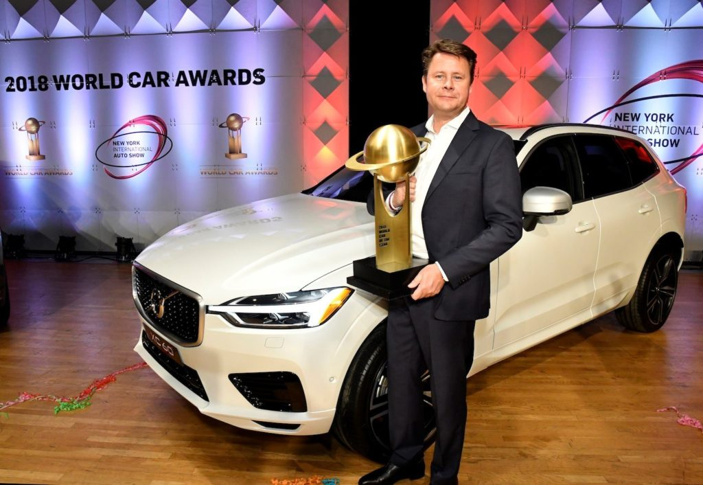 La Volvo XC60 conquista il World Car of the Year 2018 Award
