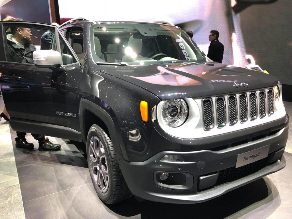 Jeep Renegade MY18 - Salone di Ginevra 2018