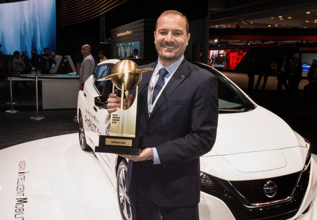 Nissan LEAF: il nuovo modello è stato eletto World Green Car 2018